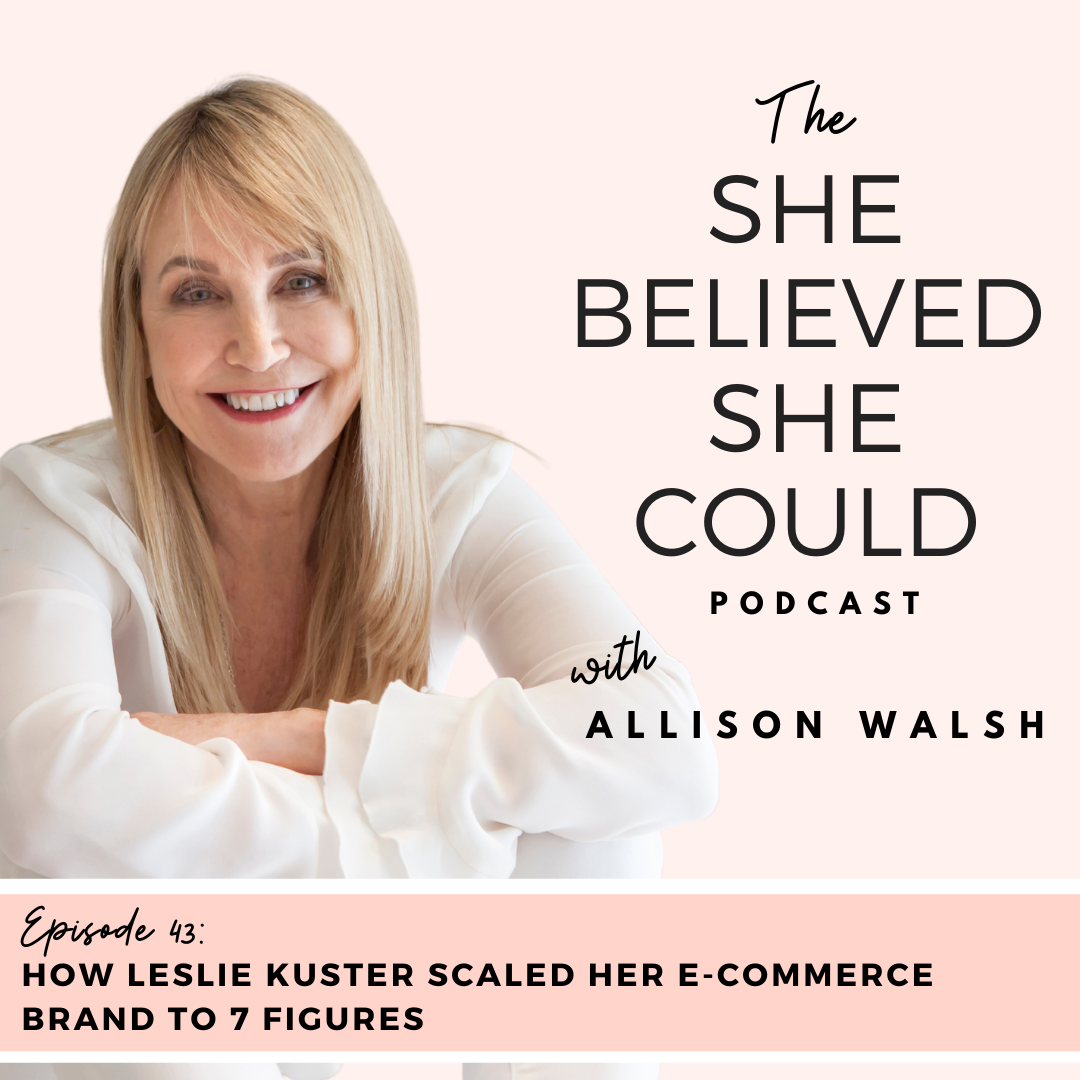 She Believed She Could Podcast Interview